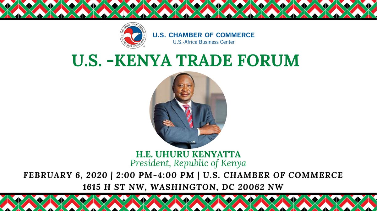 test Twitter Media - Today, the @USChamberAfrica  is honored to host the #USKenyaTradeForum, celebrating the U.S. –Kenya commercial relationship and exploring new ways to spur #trade between #USKenya https://t.co/Xr9E7qsWPk