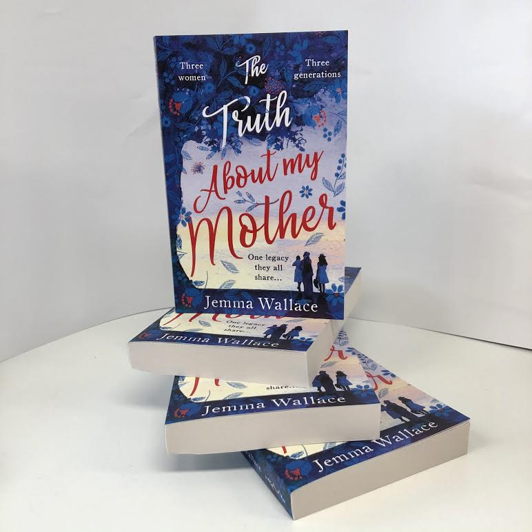 These beautiful proofs of #TheTruthAboutMyMother by @Jemma_L_Wallace arrived today!!! @TrapezeBooks 📚📚📚