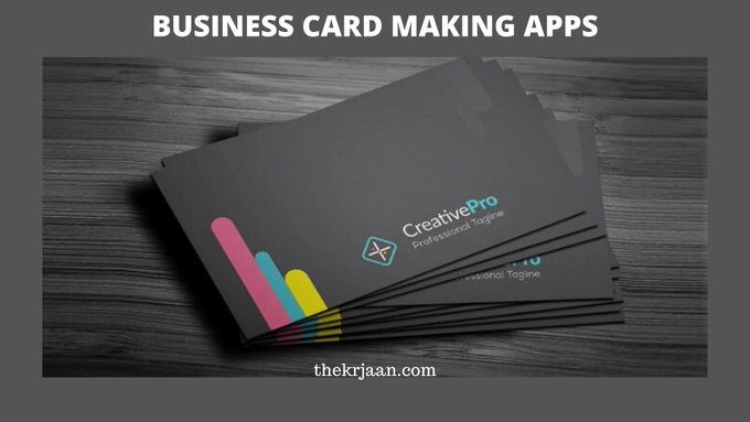 Business Card Making Apps