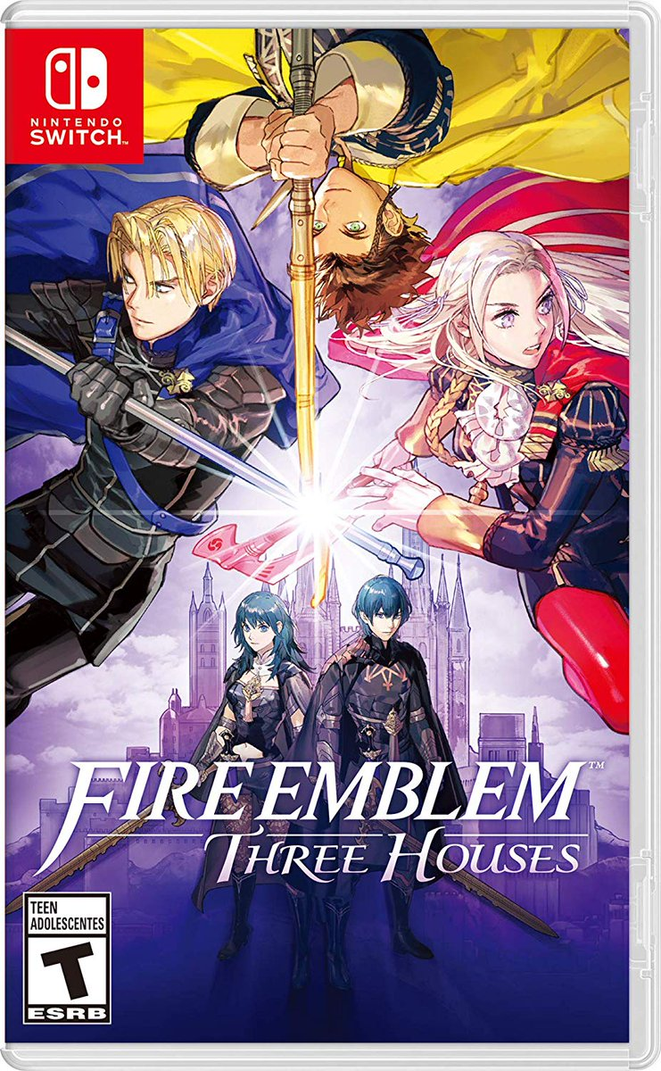 Fire Emblem: Three Houses (physical) is discounted to $49 on Amazon. Theres even more Fire Emblem characters in this than Smash Bros! amzn.to/2S1MBd4