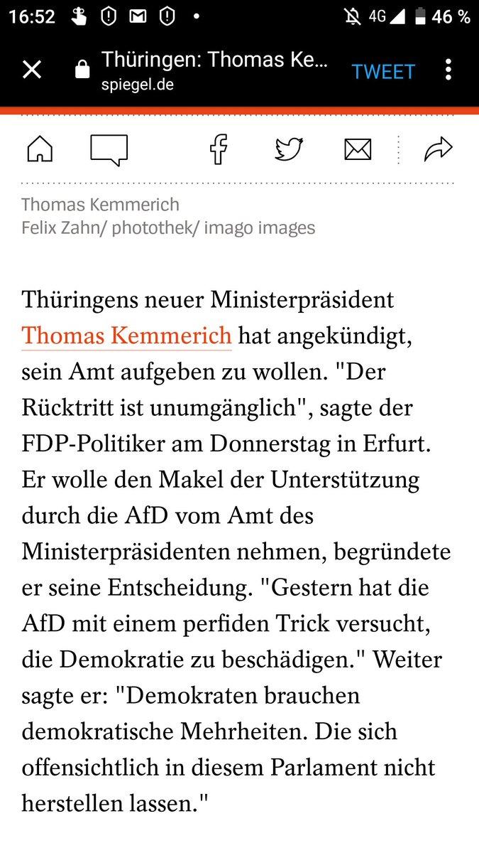 #KemmerichRuecktritt