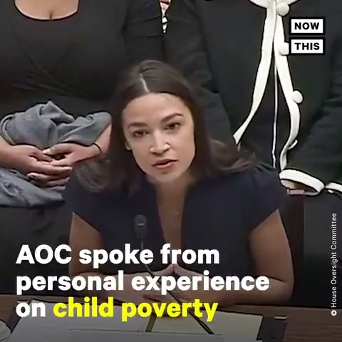 'This is a moral wrong' — @AOC got personal while fighting for the Recognizing Poverty Act, which would expand and correct the definition of poverty in America