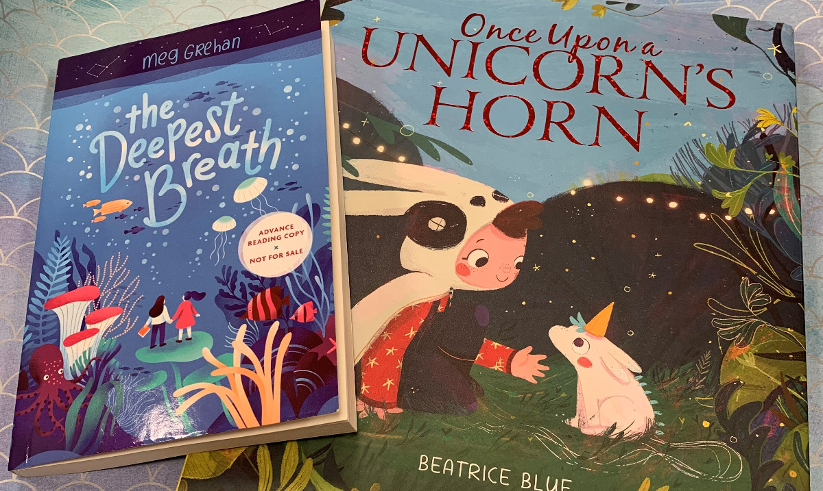 ONCE UPON A UNICORNS HORN (Out 5/5) and THE DEEPEST BREATH (Out next year, 2/16/21) have been shortlisted for the Waterstones Childrens Book Prize in the UK! ow.ly/ivWh50yfKqm