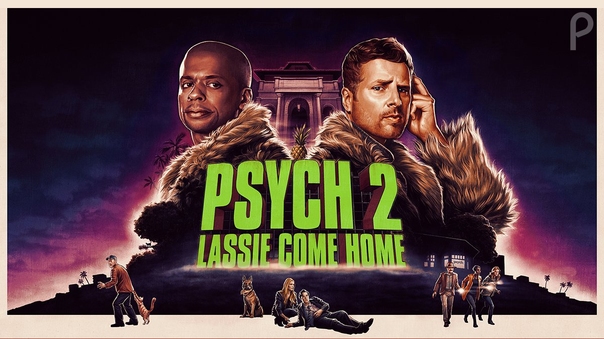 'GONNA PSYCH YOU OUT IN THE END'! Creator @SteveFranks talks series memories, new sequel PSYCH movie coming to the streamer @peacockTV!  Check out my interview with Steve on @DynamicForces! #PsychTheMovie2 @NBCUniversal