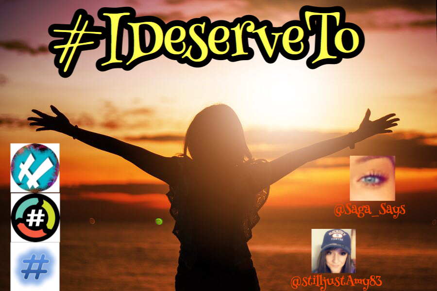 Hello, lovely friends!! ❤️❤️❤️ Let's play #IDeserveTo w/ @Saga_Says and @stilljustAmy83 with @HashNight!! Proud part of @HashtagRoundup powered by @TheHashtagGame!!