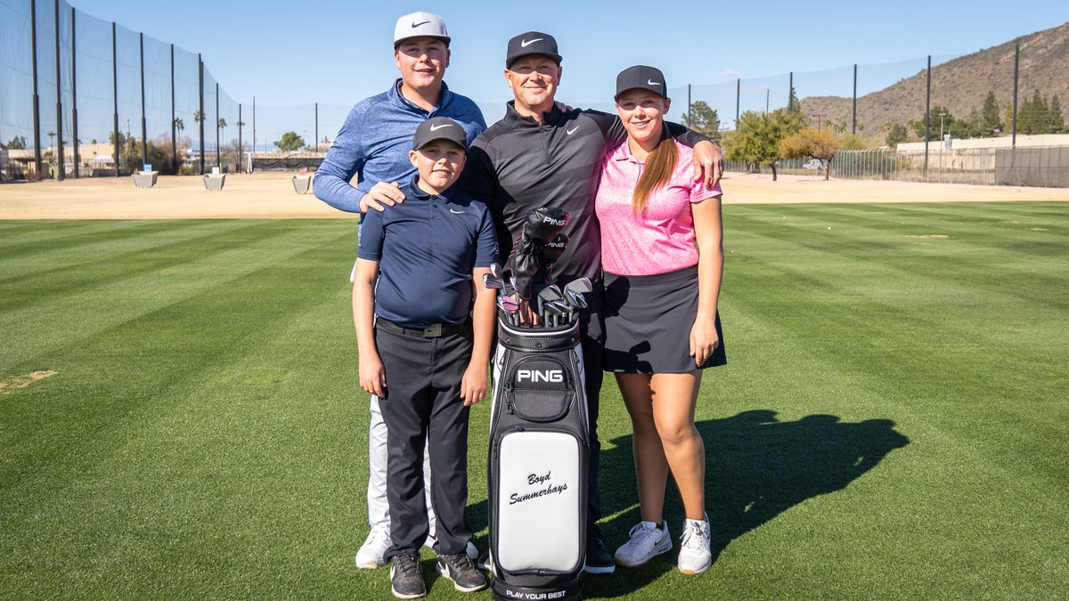 A golf dad, swing coach to Tony Finau, and now, a PING Brand Ambassador. We are excited to officially welcome Boyd Summerhays to #TeamPING.