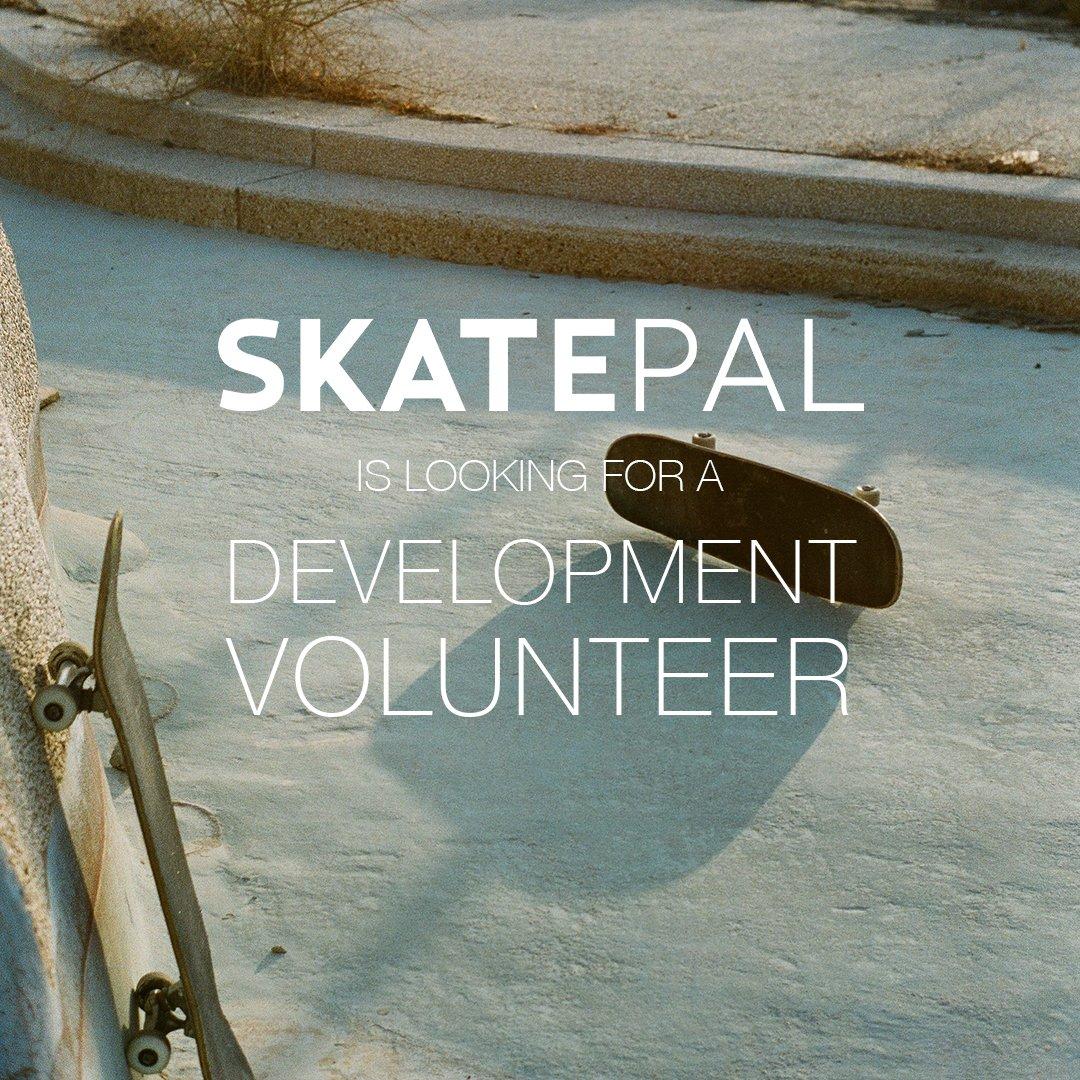 London-based? Love admin, funding & people? Hit up @skate_pal and get involved! 😀 skatepal.co.uk/news/developme…