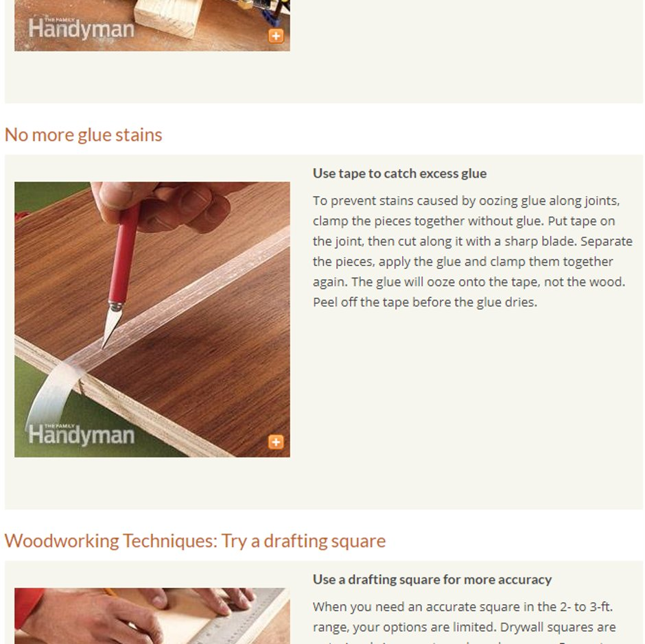 There's some great wood working tips here, we love the excess glue one! https://www.familyhandyman.com/woodworking/woodworking-tips/top-10-woodworking-tips/… #Osmo #OsmoUK #OsmoOil #Wood #WoodWorking #WoodWorkingProject #WoodWorkingUK #WoodCraftpic.twitter.com/Dh3ohs9i1d