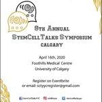 Image for the Tweet beginning: This year's StemCellTalks Symposium is