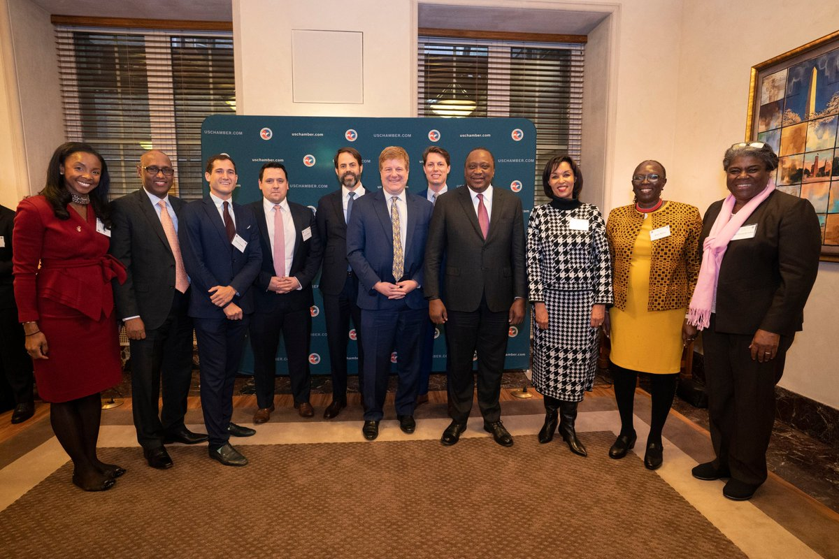 test Twitter Media - It was an honor to host #PresidentUhuruKenyatta at the @USChamber for the #USKenyaTradeForum. This marks a beginning of a new era for the U.S. -Kenya Strategic Partnership. #big4 #AfCFTA #Kenya https://t.co/2A4cqSwdN5