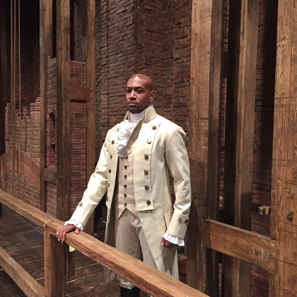 """Who tells your story?"" Tonight on campus, Broadway actor @therealBTC tells his — discussing his rise from humble beginnings to a starring role in Hamilton. Learn more: https://news.richmond.edu/releases/article/-/16984/university-of-richmond-celebrates-black-history-month.html …"