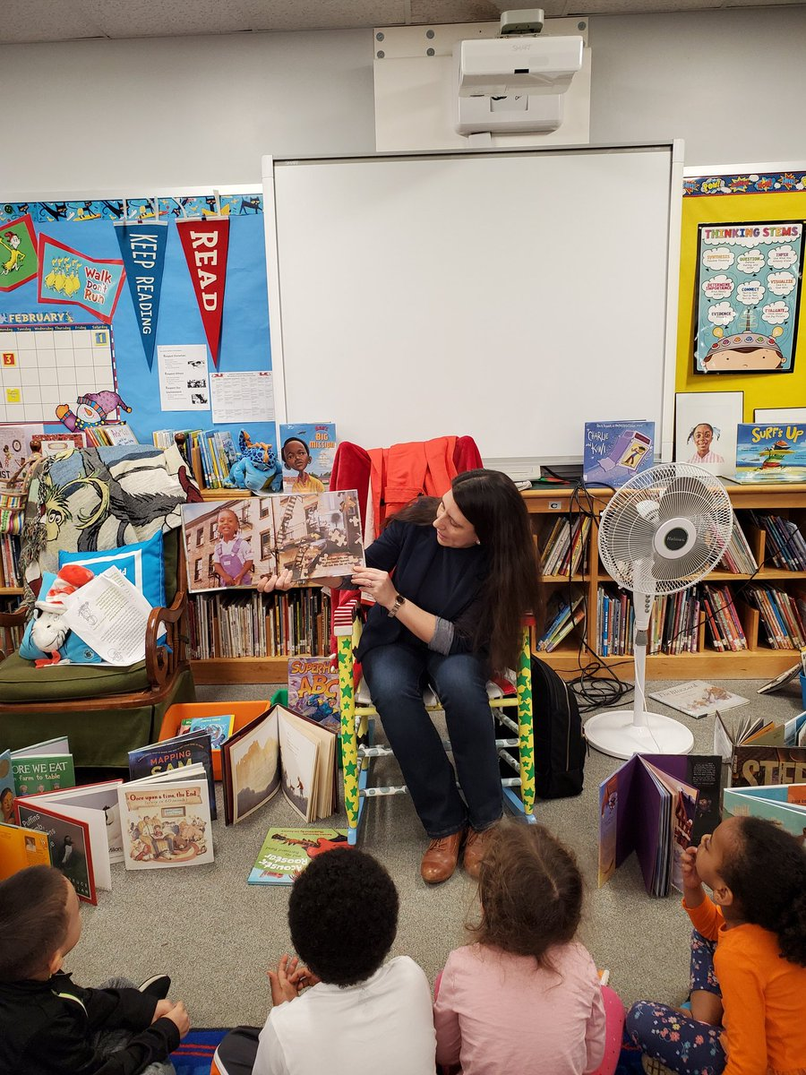 Ms. Talento read to Drew students in celebration  of African American Month. <a target='_blank' href='http://twitter.com/TanniaTalento'>@TanniaTalento</a> <a target='_blank' href='http://twitter.com/APSDrew'>@APSDrew</a> <a target='_blank' href='http://twitter.com/MrsBlackatDrew'>@MrsBlackatDrew</a> <a target='_blank' href='http://twitter.com/GravesKimberley'>@GravesKimberley</a> <a target='_blank' href='http://twitter.com/APTracyG'>@APTracyG</a> <a target='_blank' href='http://twitter.com/CherylDButler4'>@CherylDButler4</a> <a target='_blank' href='https://t.co/K6xegoYfjR'>https://t.co/K6xegoYfjR</a>