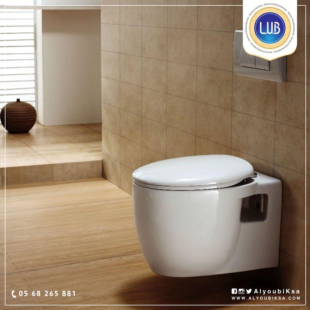 لأن #النظافة هي أكثر ما يلزم #الحمام فطبيعي أن يكون اختيارك كرسي الحمام المعلق لتوفيره سهولة التنظيف والتطهير   للتواصل : 0568265881