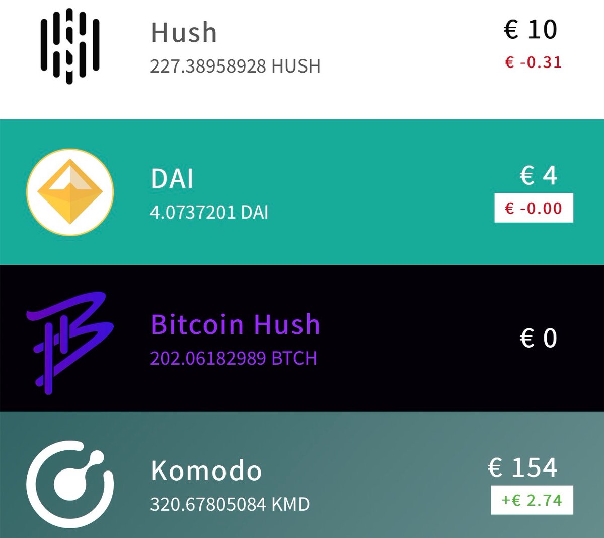 hush cryptocurrency wallet