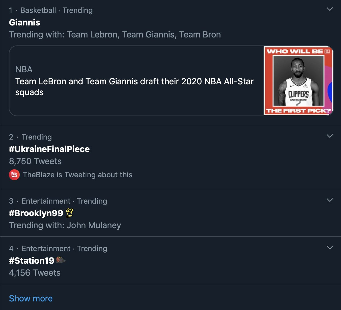 #UkraineFinalPiece is trending #2 in the entire country. Watch and see why: youtube.com/watch?v=dCSwqc…