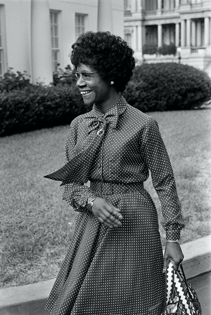 Today's #PhenomenalBlackHerstory moment goes to #ShirleyChisholm, education, author, and politician, becoming the first #BlackWoman elected into the United States Congress. https://t.co/kIiaXs4HrN