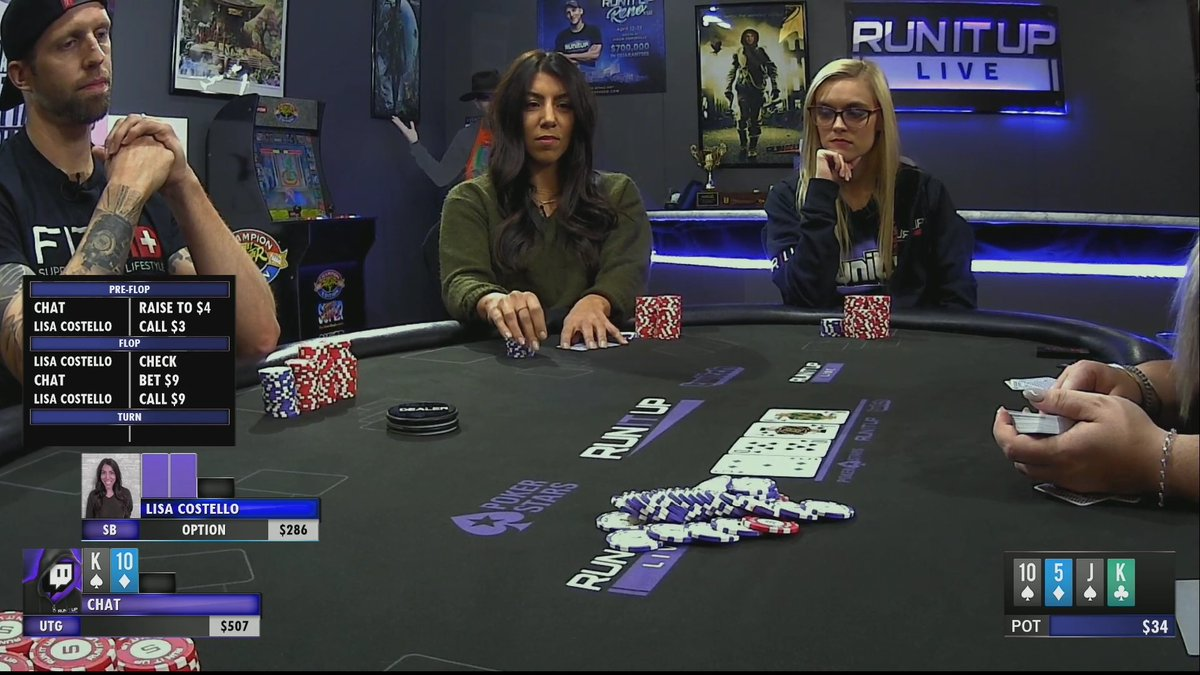We are live with another episode of Chat Plays Poker! Come hang out! runitup.tv