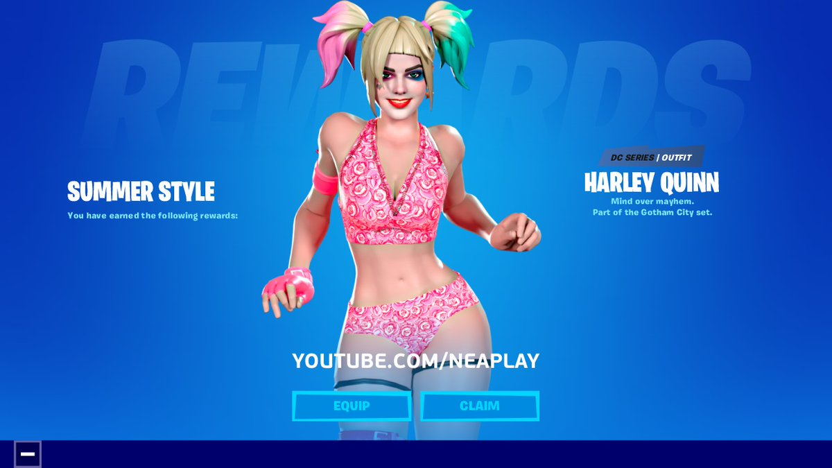 Fortnite On Twitter You Think I M Just A Doll You Re Wrong Very Wrong Get The New Harley Quinn Outfit Harley Hitter And Punchline Pickaxes In The Item Shop Now Https T Co 6eligm9pgv