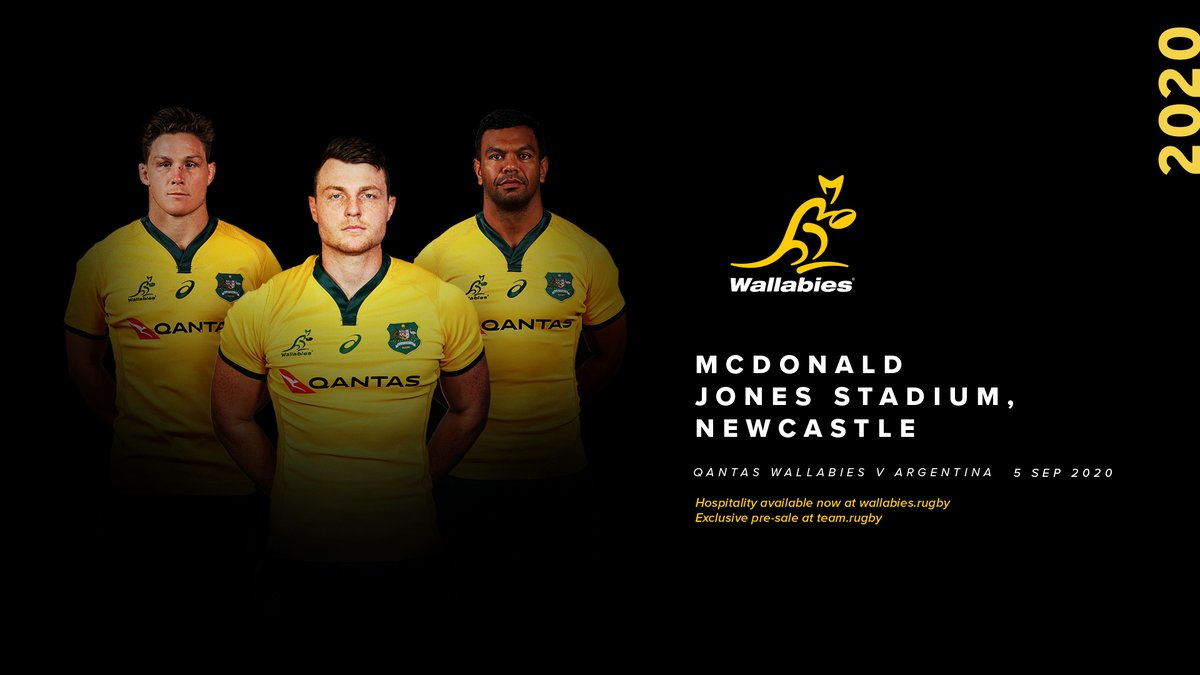 #BREAKING! The @Qantas #Wallabies return to the #CityOfNewcaste to take on Los Pumas in the #TRC20. TICKET WAITLIST: team.rugby HOSPO: wallabies.rugby/experience/hos… NEWS: wallabies.rugby/news/2020/02/0…