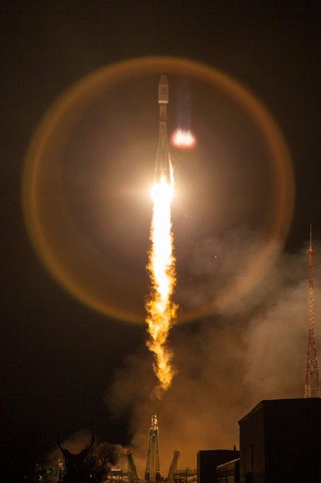 РН Союз 2.1б со спутниками ВанВэб