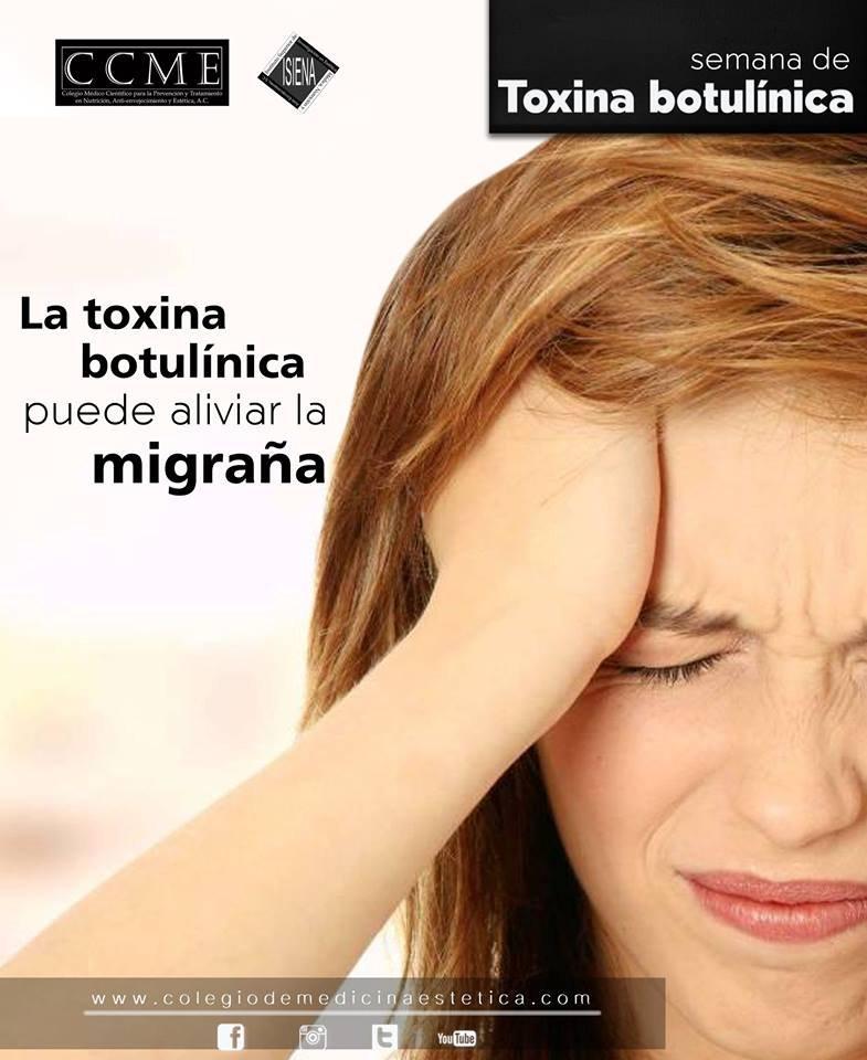 #semanaISIENAde #Toxinabotulínica tiene muchos usos en Medicina más allá del estético. El más reciente es el tratamiento para las migrañas. Su mecanismo no está del todo establecido, parece que podría tener relación con la relajación de músculos faciales http://CCME.MXpic.twitter.com/tnjooYXZmr
