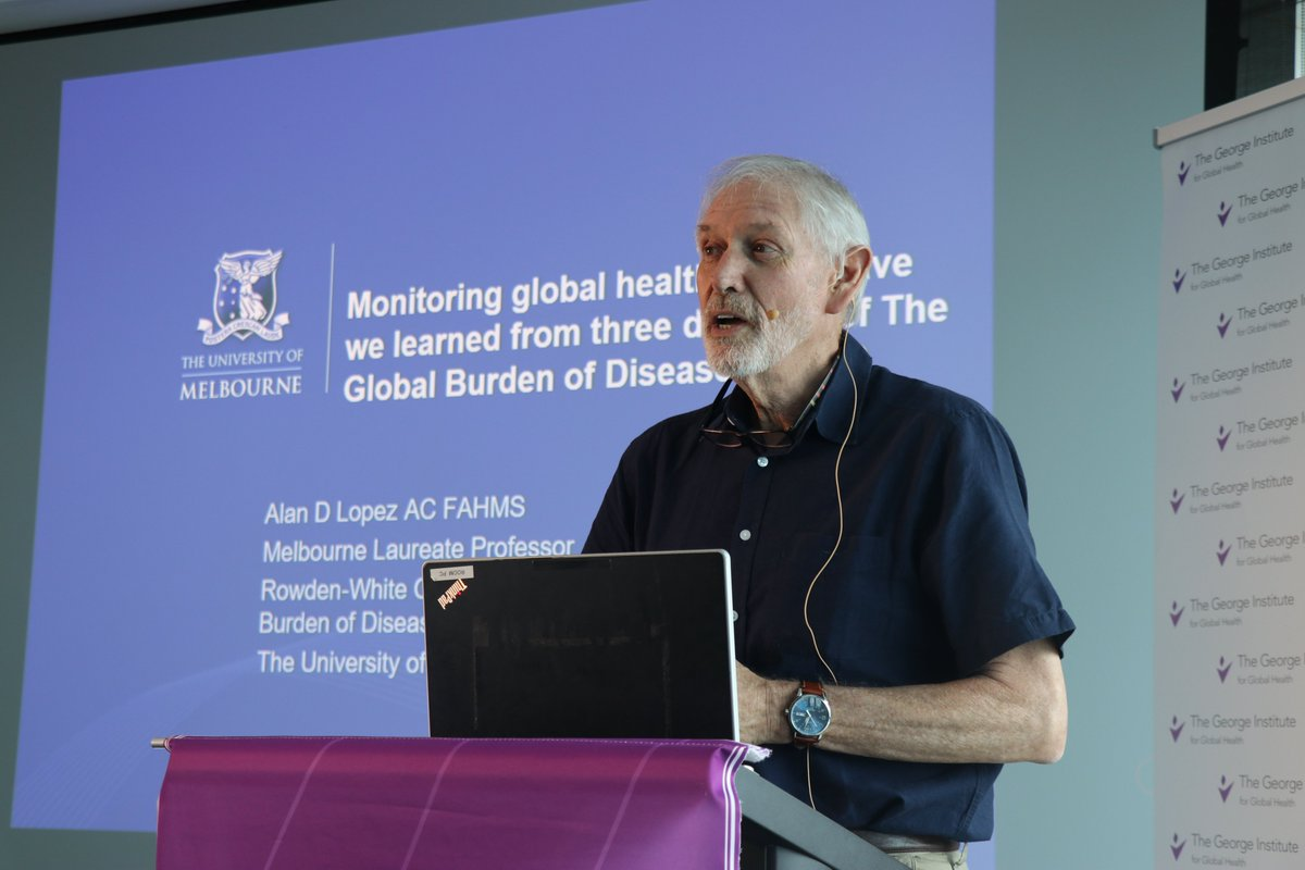 30 years of the #GBD study with expert Prof. Alan Lopez!🌏 Read all about the overarching messages for population #healthpolicies from the GBD and more on what we have learnt from this important data in the past 30 years👉 bit.ly/38a9m48 #ThoughtLeadership