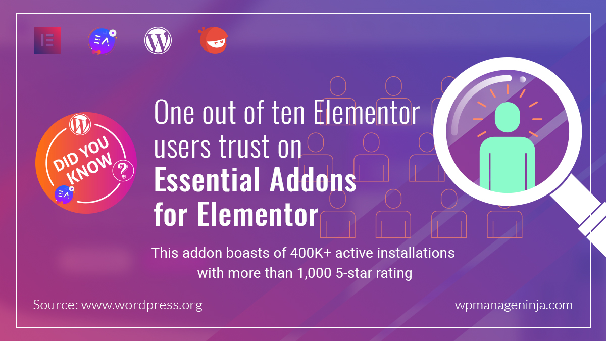 "test Twitter Media - @elemntor is great. But what makes it even more powerful? ""Essential Addons for Elementor"" by @WPDevTeam. And they just hit the 400K active installation mark last month. 🥳🥳🥳 Are you an Elementor user? Why don't take Essential Addons for a test drive? #DidYouKnow #WordPress https://t.co/thOJW4lNBu"