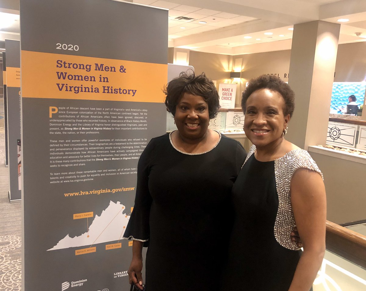 Celebrating #BlackHistoryMonth2020 at our annual Strong Men and Women program with @DominionEnergy & @LibraryofVA!