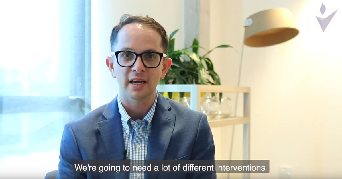 We asked Associate Prof. Abraham Flaxman the question: How can we use the Global Burden of Disease study to achieve Sustainable Development Goal 3.2? Watch what he had to say here: bit.ly/38azwUo #ThoughtLeadership #SGDs @healthyalgo