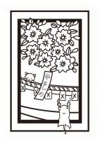 素材ラボ Ar Twitter 新作イラスト ぬりえ 3月花札 桜に幕 二匹の子猫 高画質版dlはこちら T Co Is7j8pv29c 投稿者 Shinyaさん 花札をモチーフにした塗り絵です 子どもも大人も塗り ぬりえ 花札 春 3月 和風 猫 桜 かわいい T Co