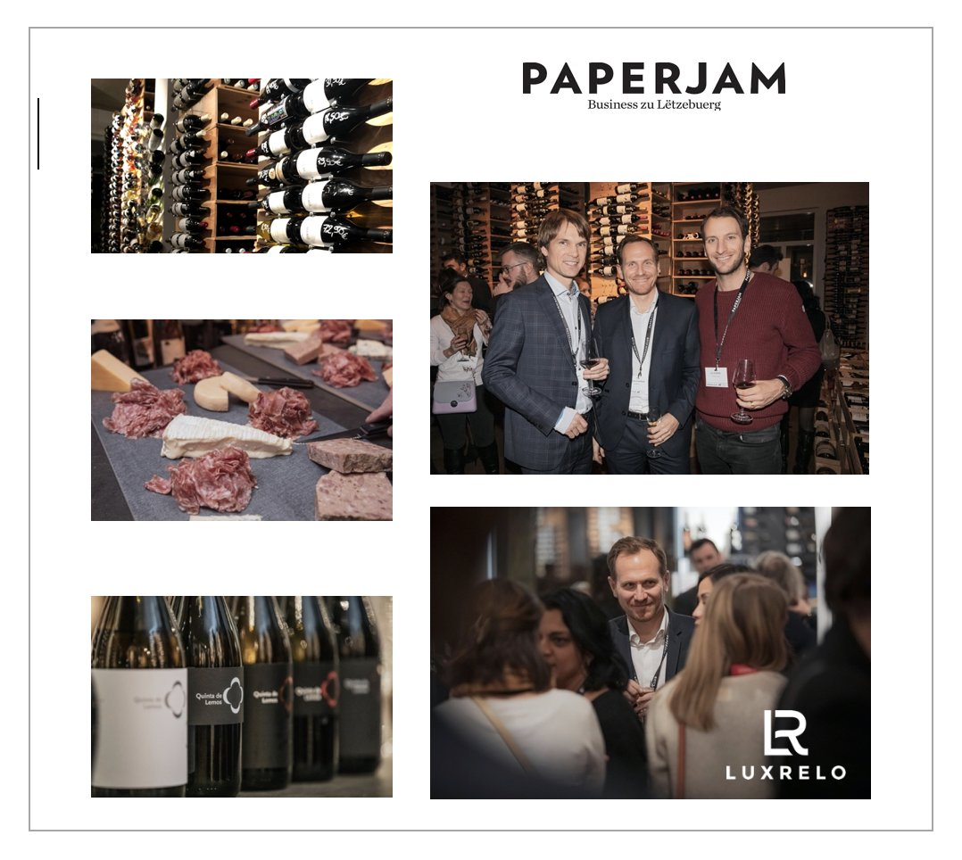 Another nice event organized by the Paperjam Club.  Networking Circle: Wine testing.  Jan Hanrion  LuxRelo | Relocation Services Luxembourg #vinoteca #paperjamclub #movetolux #movetoluxembourg #relocationluxembourg #luxembourg #luxrelo #luxrelocation #luxrelocationservicespic.twitter.com/rRdTOfB4uZ