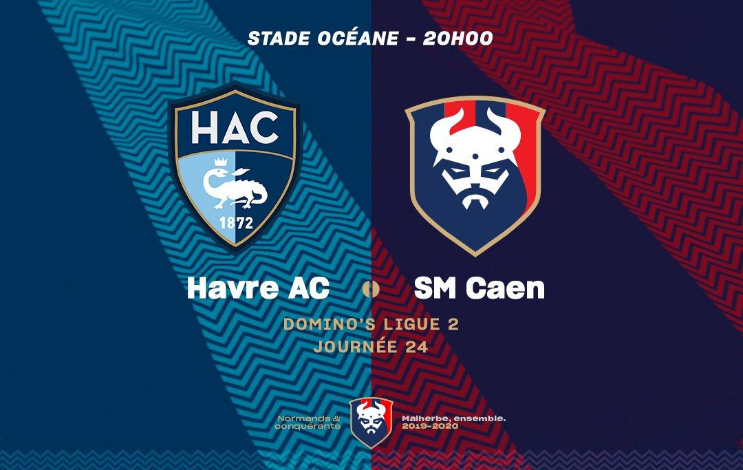 [24e journée de L2] Havre AC 1-1 SM Caen EQKK-XtUcAEayQ-