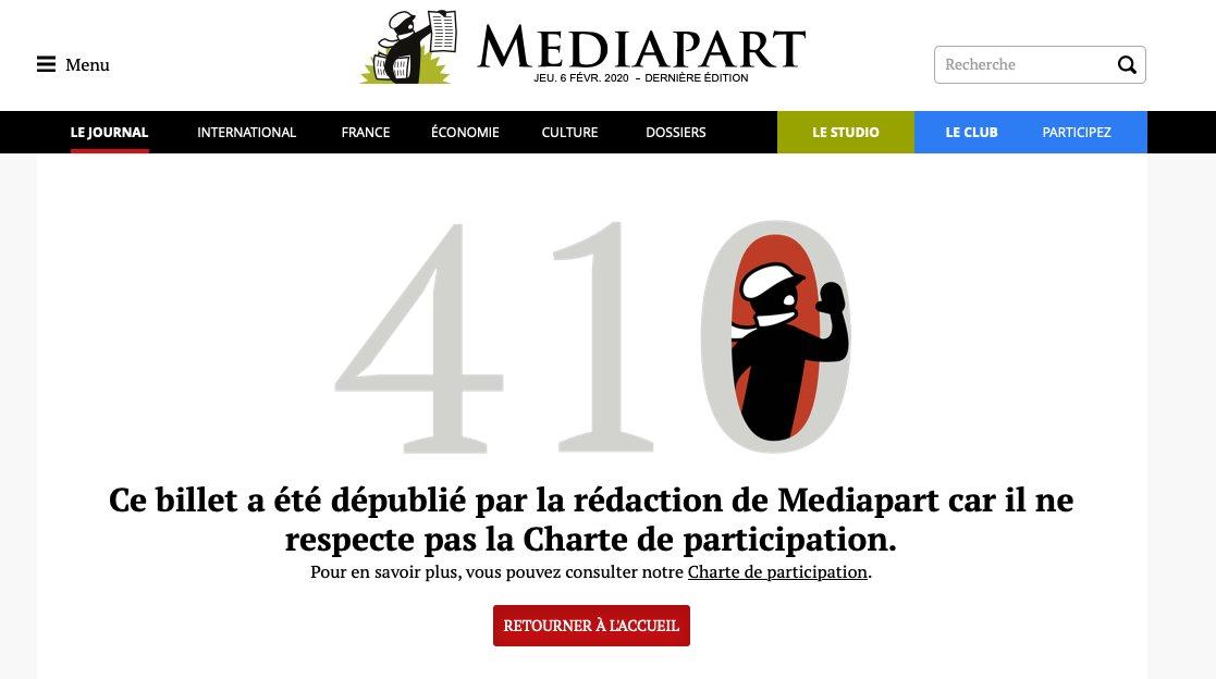 Mediapart censure l'infâme Abina
