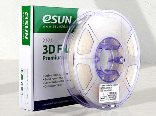 For guys who checked our Tweet yesterday, yes it's #eSUN e4D-1 #4D printing filament!  4D is also called as 4D shape memory filament, which is a stimulus-responsive material. Under specific environment like temperature, they can change from temporary shape to its initial shape!