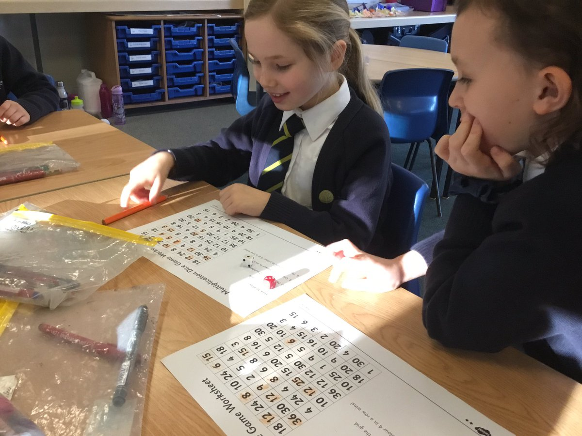 test Twitter Media - We have used our times tables knowledge to play a game of four in a row! #gorseymaths https://t.co/FJ7txdSlBl