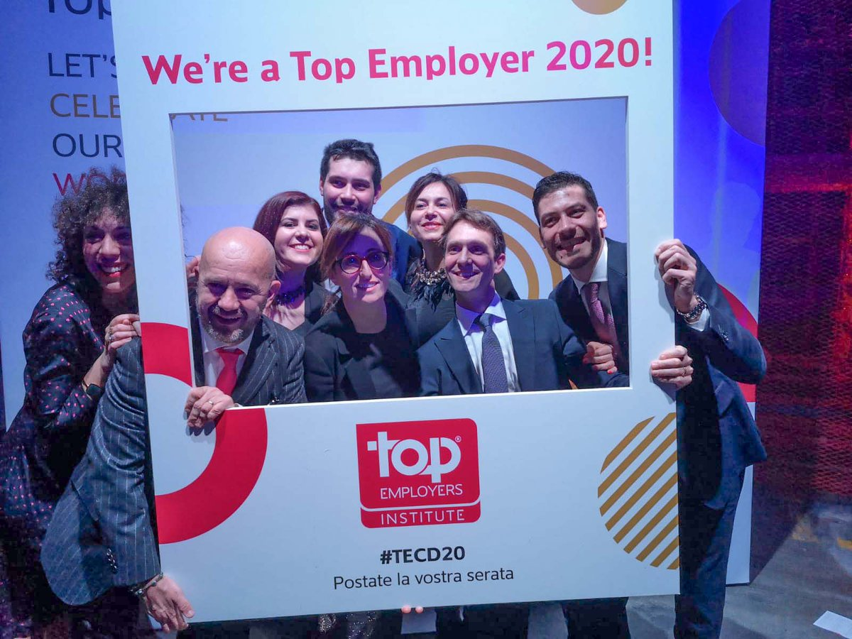 #Elica stands out once again for the attention to employees qualifying in 2020 as a Top Employer Company!   Top Elica HR team! ✌  #Elicarianuova  #TopEmployers #ForABetterWorldOfWork #TECD20 https://t.co/B7tHH3LmZV