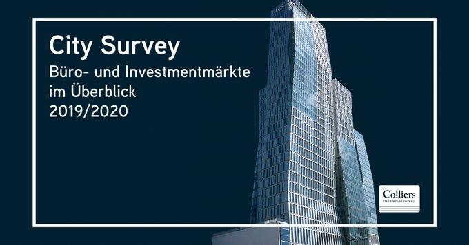 Im City Survey 2020 erfahren Sie alle Zahlen, Daten und Fakten zu den deutschen Büro- und Investmentmärkten. Darüber hinaus erhalten Sie alle Marktberichte für Bürovermietung und Investment der Top 7-Standorte. <br></noscript>Den kompletten Bericht gibt's hier:  t.co/xxxm7AkpCa
