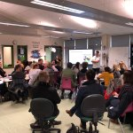 Image for the Tweet beginning: And we're off... #Makaton workshop,