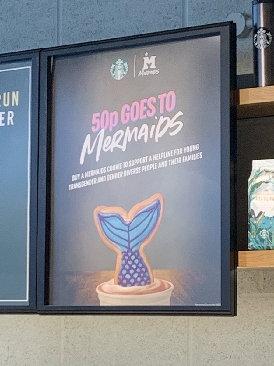 Matt On Twitter So Starbucks Are Selling Mermaid Cookies And If You Buy One 50p Goes To Mermaids Buy One And Annoy All The Right People Yes You Know The Ones I