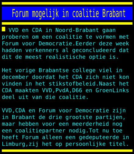Onderhandelingen PS Brabant