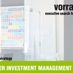 Image for the Tweet beginning: SENIOR MANAGER INVESTMENT MANAGEMENT /