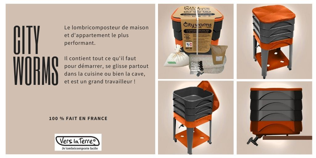 Vers La Terre V Twitter Un Peu De Peps Avec Ce Lombricomposteur City Worms Orange 100 En Plastique Recycle Et Entierement Fait En France A Retrouver En Boutique Https T Co Mrpc5khrwb