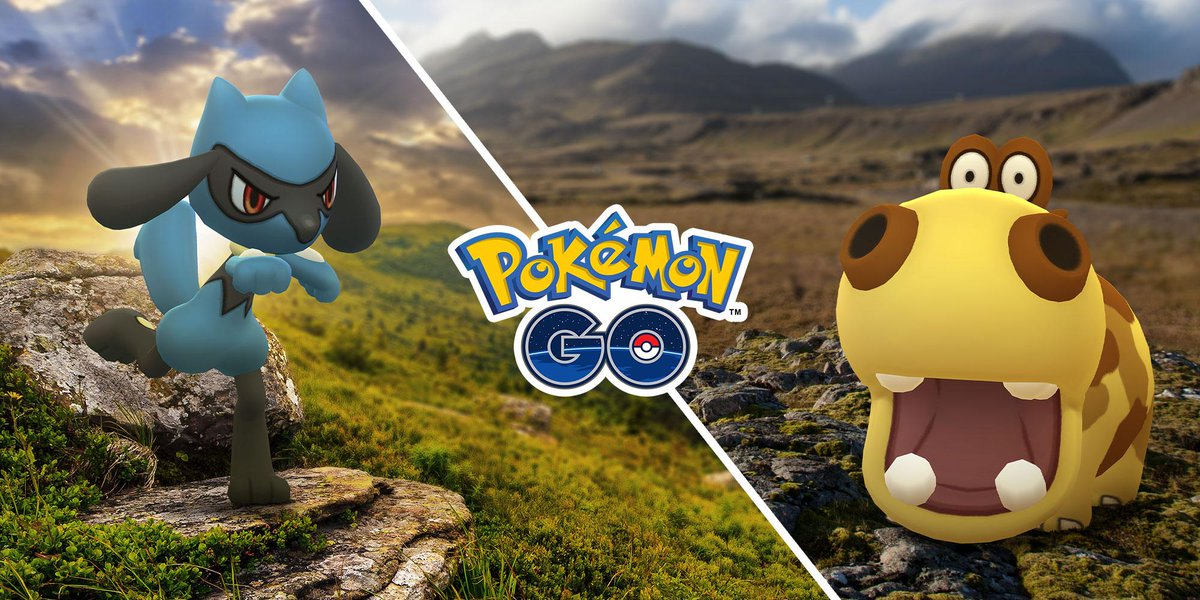 We know that you know that Pokémon originally found in the Sinnoh region are awesome. But did you know that our Sinnoh region celebration starts now? Now you do! pokemongolive.com/post/sinnohcel…