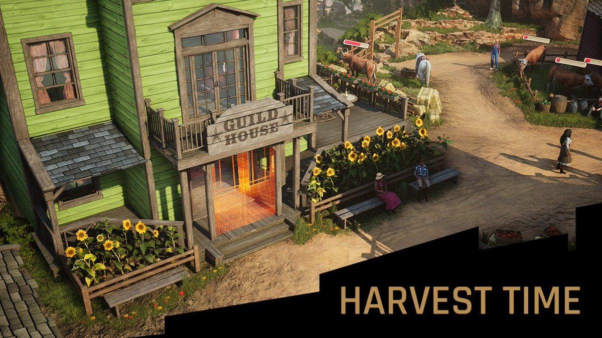 Adaptive Cyberpunk RPG Gamedec introduces farming virtual world Harvest Time in new developer diary: rpgsite.net/news/9431-adap…
