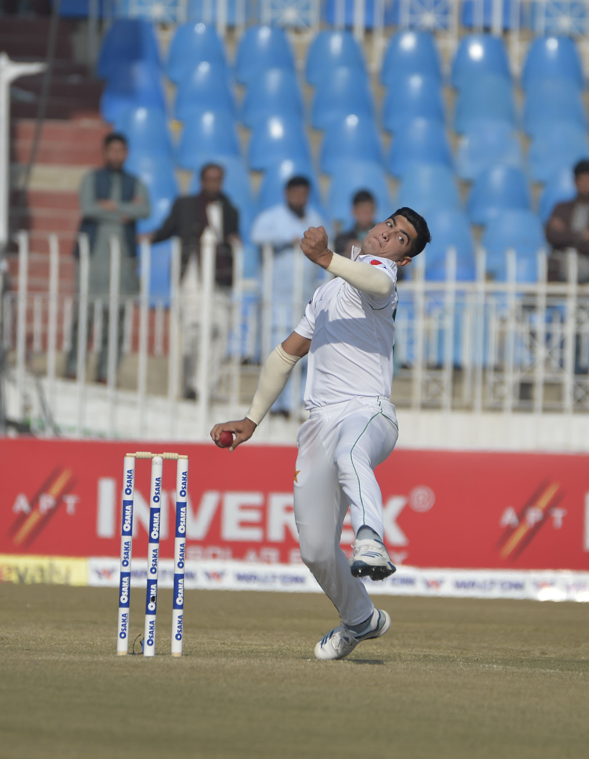 Pakistan cricketer- Naseem Shah