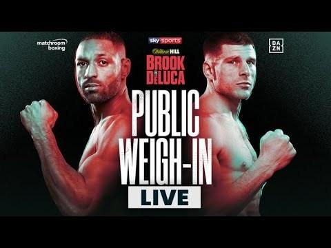Kell Brook vs Mark DeLuca plus undercardweigh-in youtube.com/watch?v=FM0yFD…