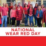 Image for the Tweet beginning: Today is National Wear Red