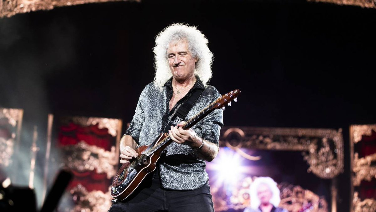 Queen in Auckland: Welcome to the incredible Brian May Variety Show! dlvr.it/RPZgNT