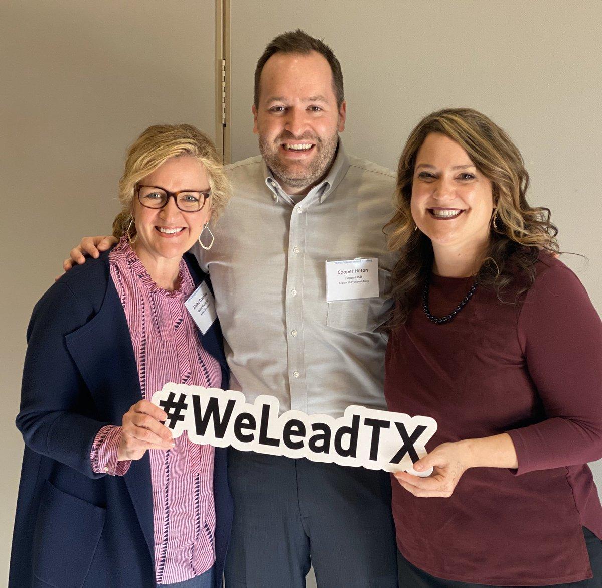 TEPSA Winter Board Meeting #weleadtx @AmandaSchmitter #tepsanoftheyearregion10 @HiltonCooper @tepsamark