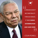 Image for the Tweet beginning: Colin Powell was the first
